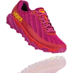 Hoka One One Torrent Chaussures de trail Femme, cactus flower/poppy red